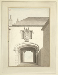 The Deanery Gate At Chichester